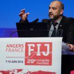IFJ general secretary Anthony Bellanger