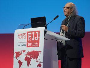 Jim Boumelha, outgoing IFJ president