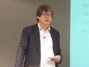 Former Guardian editor, Alan Rusbridger